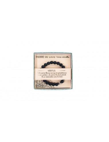 Bracelet Pierre de Lave 8mm