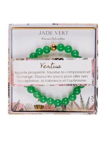 Coffret Bracelet Jade Vert