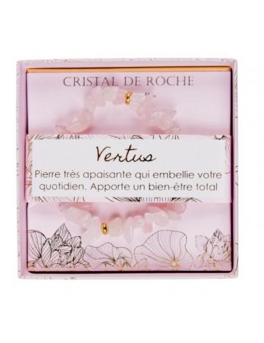 Coffret Bracelet Cristal de Roche