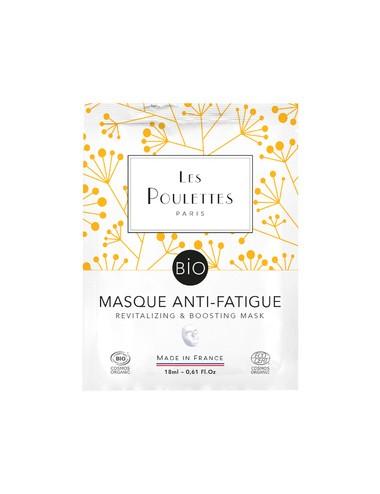 Les Poulettes Masque Bio Anti-Fatigue