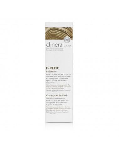 Clineral D-MEDIC Crème pieds 125ml