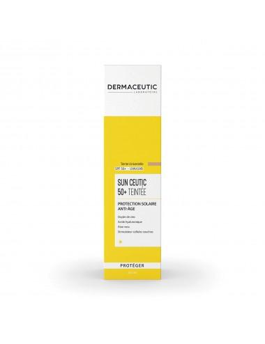 Dermaceutic Sun Ceutic 50+ Protection Solaire Anti-Âge Teinté 50ml