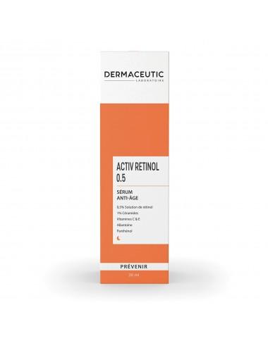 Dermaceutic 50ml Activ Retinol 0.5 Sérum Anti-Âge 30ml