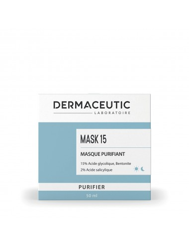 Dermaceutic Mask 15 Masque Purifiant 50ml
