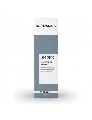 Dermaceutic Light Ceutic Crème Nuit Unifiante 40ml