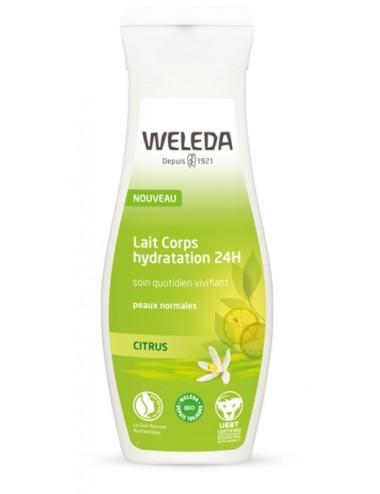 Weleda Lait Corps vivifant au Citrus bio 200ml