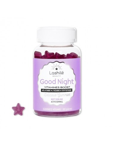 Lashilé Beauty Good Night Vitamines Boost 60 Gommes