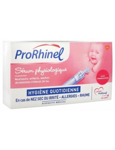 ProRhinel Sérum Physiologique 30 Unidoses
