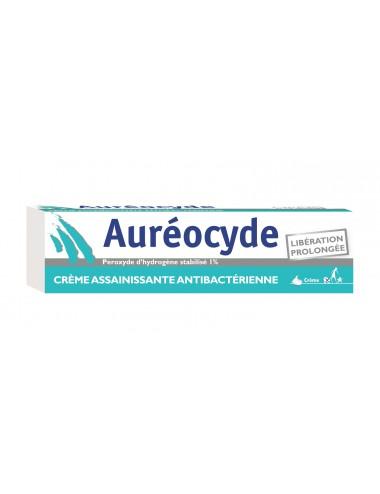 Cooper Auréocyde Crème Assainissante Anti Bactérienne 15g