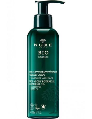 Nuxe Bio Huile Nettoyante Végétale 200ml