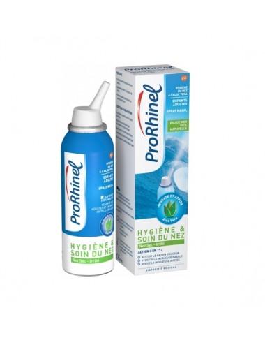 Prorhinel Spray Nasal Aloe Vera Adultes et Enfants 100ml