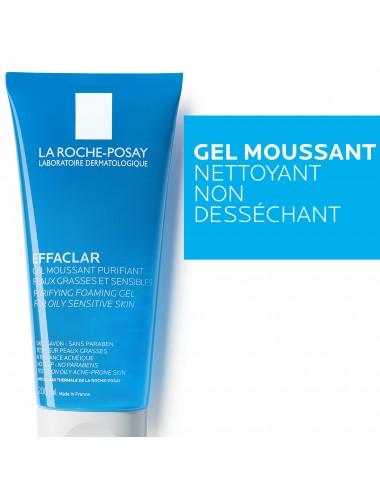 La Roche Posay Effaclar Gel moussant purifiant 200ml