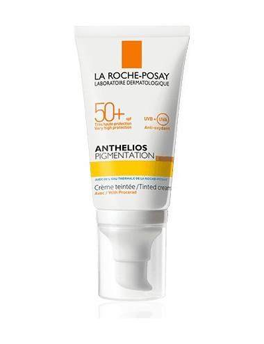 La Roche Posay Anthelios Crème Solaire en Gel-Crème Anti-Imperfections Visage SPF50+ Sans parfum 50ml