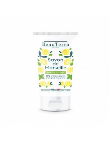 Beauterra Savon De Marseille Menthe-Citron - 100 ml