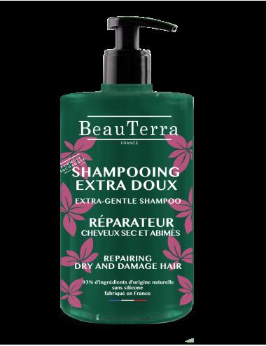 Beauterra Shampoing Ultra Doux Réparateur - 750Ml