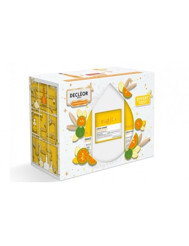 Decléor Coffret Lab Mandarine verte Sérum Aromessence 15ml + Crème Ambrée 50ml + Crème Yeux Jasmin 15ml OFFERTE