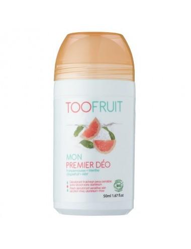 Toofruit Mon premier Déodorant Pamplemousse Menthe 50ml