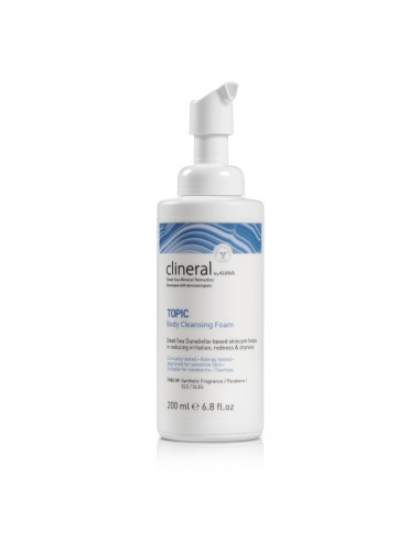 Clineral TOPIC Mousse nettoyante Corps 200ml