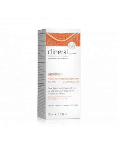 Clineral SKINPRO Hydratant Prtotection visage SPF50 50ml