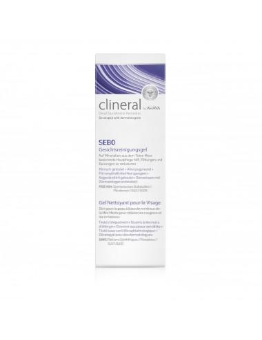 Clineral SEBO Gel nettoyant visage 75ml