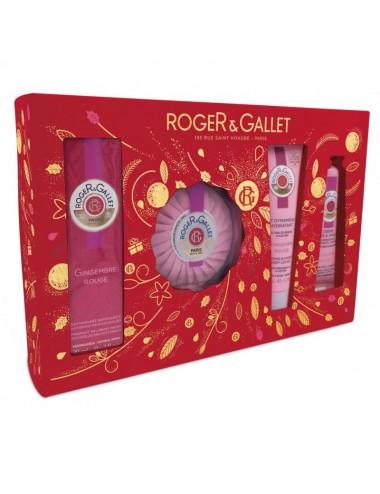 Roger Gallet Coffret Gingembre Rouge Eau Fraîche
