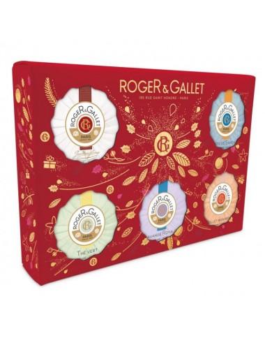 Roger Gallet Coffret Découverte Savon 5x50g
