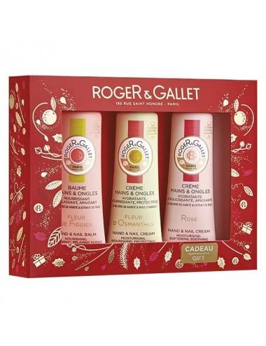 Roger & Gallet Coffret Noël Découverte Trio Crèmes Mains