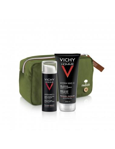 Vichy Homme Trousse Visage et Corps Anti-Fatigue Hydra Mag C