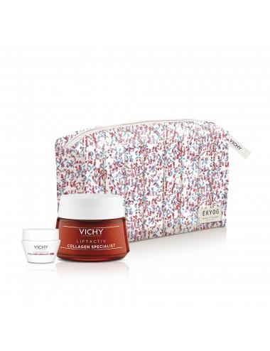 Vichy Trousse Liftactiv Collagen Specialist Soin Global Anti-âge 50ml + Soin de Nuit 15ml offert
