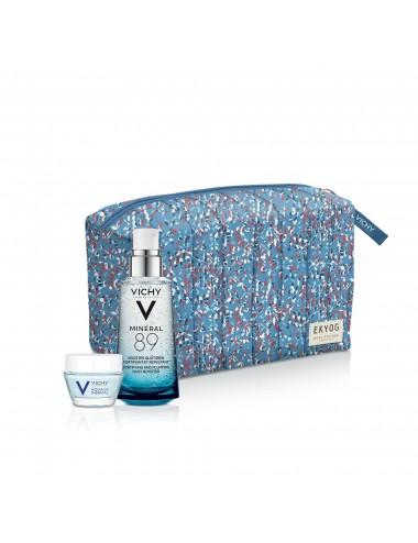 Vichy Trousse Minéral 89 Soin Hydratant Fortifiant et Repulpant 50ml + Soin de Jour 15ml offert