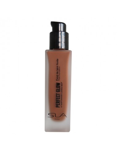 SLA Fond de teint fluide PERFECT GLOW Brun 30ml